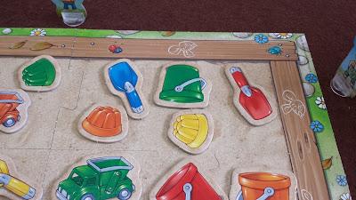 砂場のおもちゃ集め(Sandkasten-Sammelspiel) ゲーム終了
