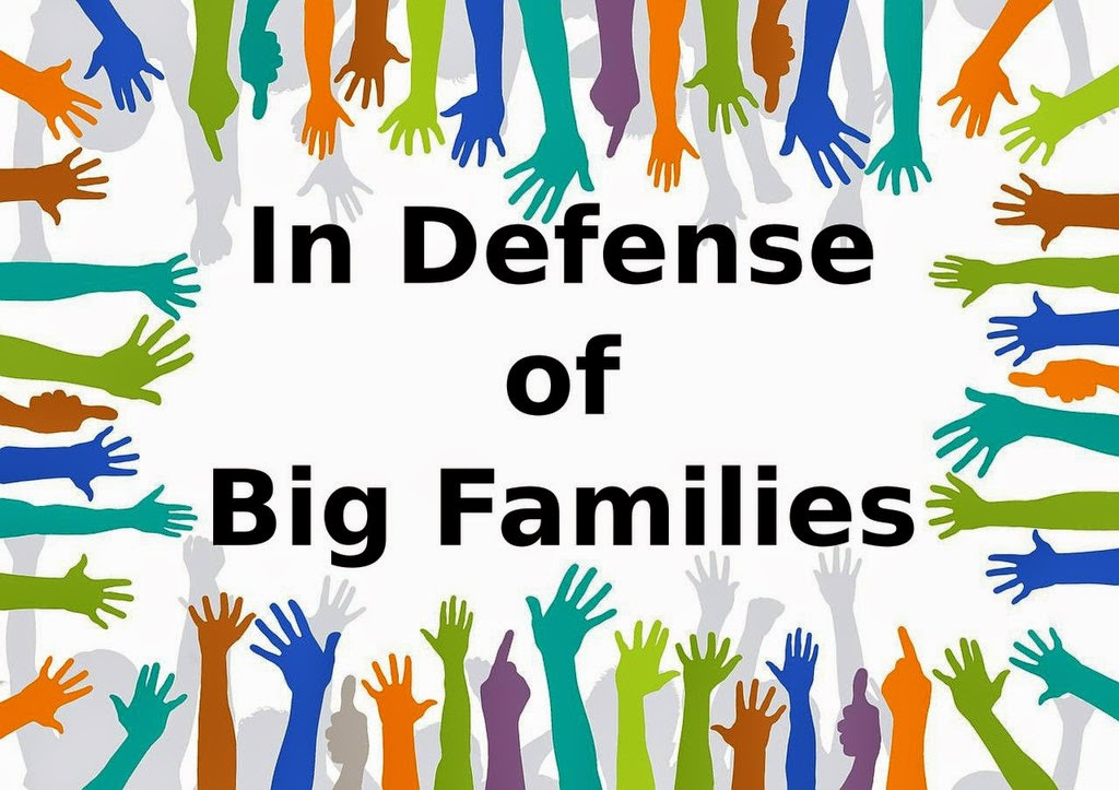 In Defense of Big Families -- if you've ever looked at a family with lots of kids and not been able to understand why they would choose that life for themselves, maybe this will help explain  {posted @ Unremarkable Files}