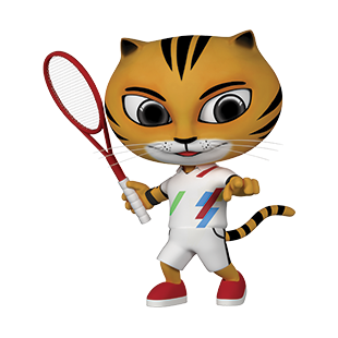 Icon Pictogram SEA Games 2017 Tennis
