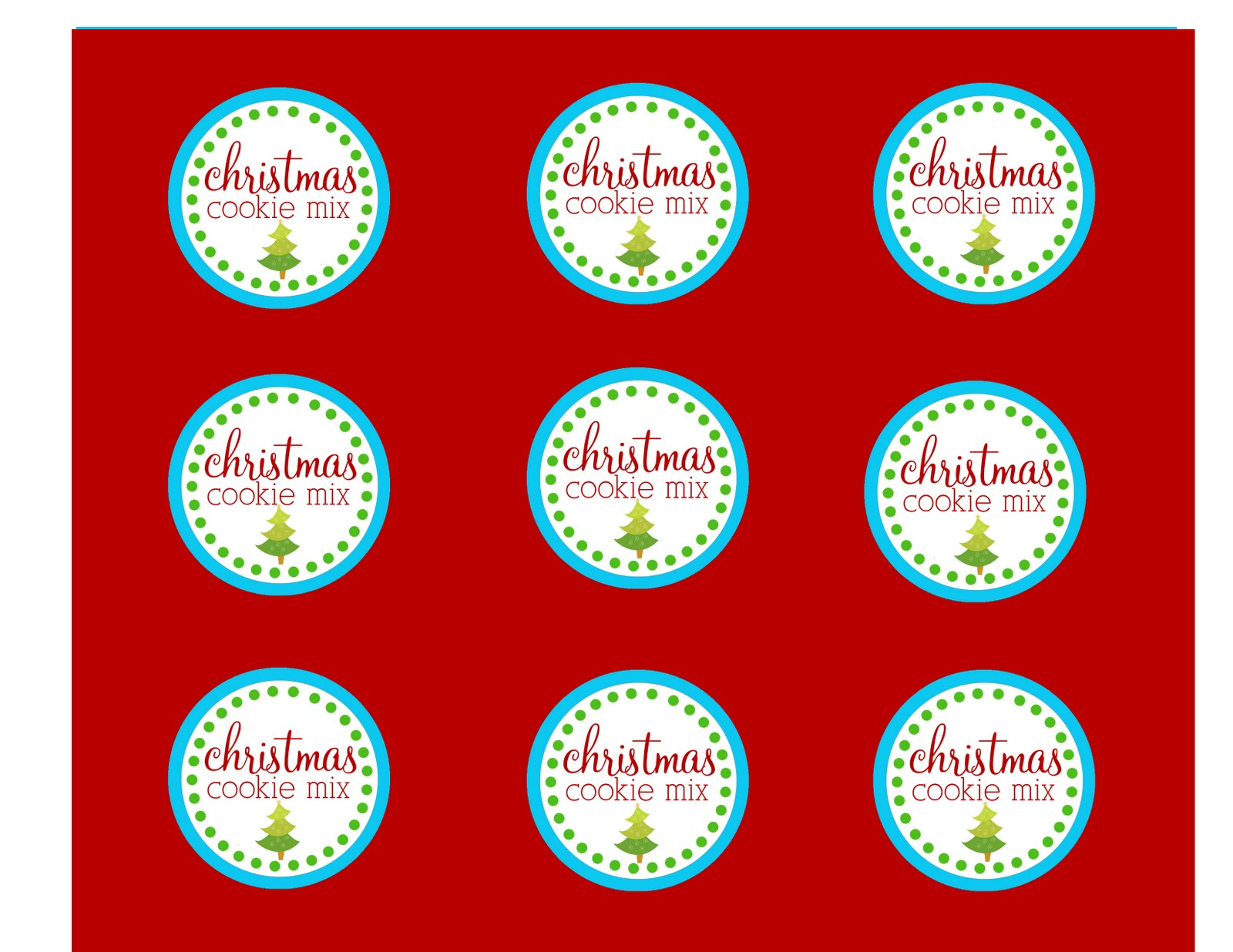 The Larson Lingo Christmas Cookies In A Jar Free Printable