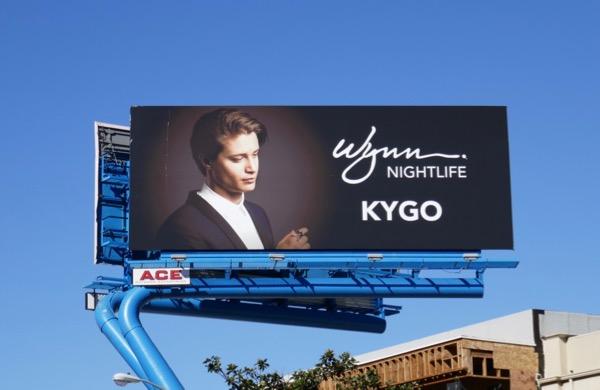 Kygo Wynn Nightlife billboard