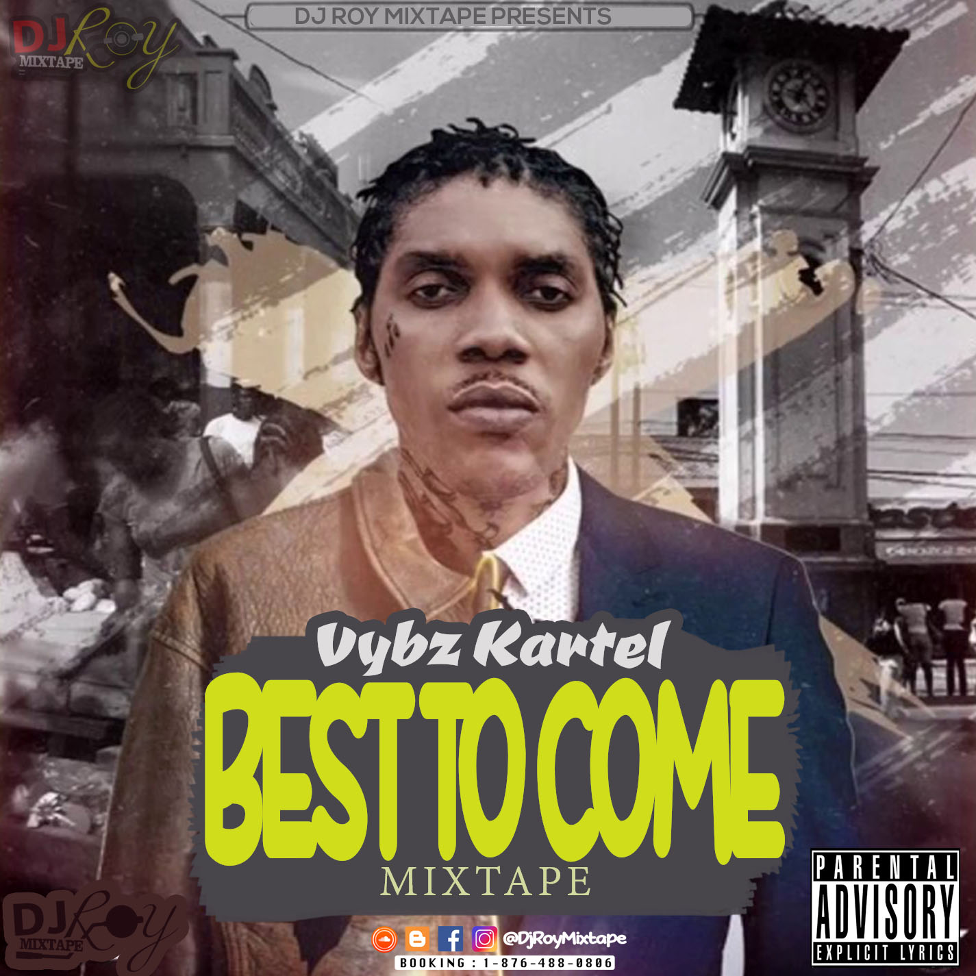 DJROYMIXTAPE : DJ ROY VYBZ KARTEL BEST TO COME 2018 MIX