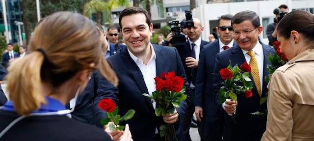 Ο Τσίπρας, ο Νταβούτογλου και τα ματωμένα τριαντάφυλλα...