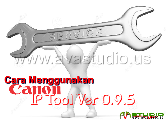 How to use Resetter Canon iP Tool v.0.9.5