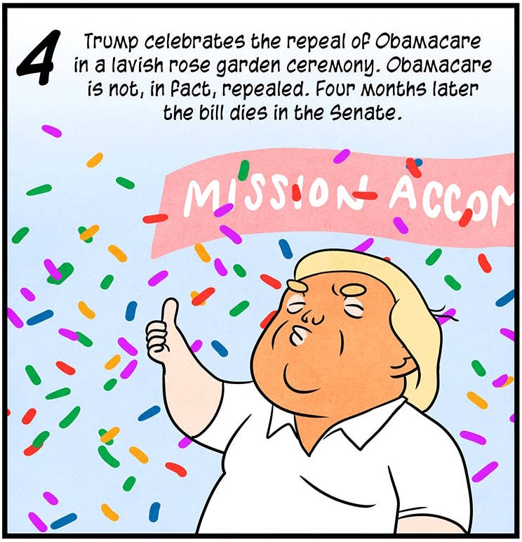 2017: The Year in Trump by Maki Naro and Andy Warner.