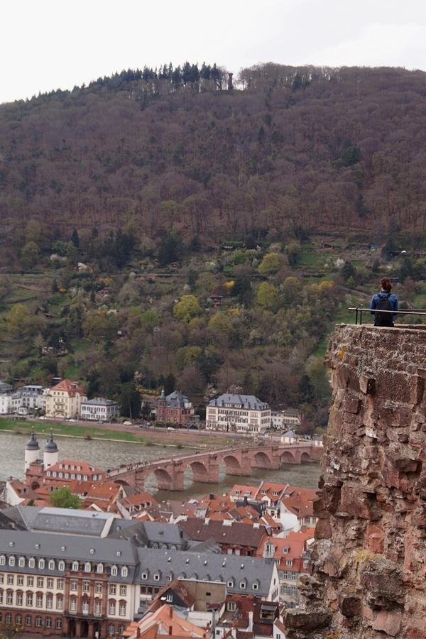 View over Heidelberg, Germany