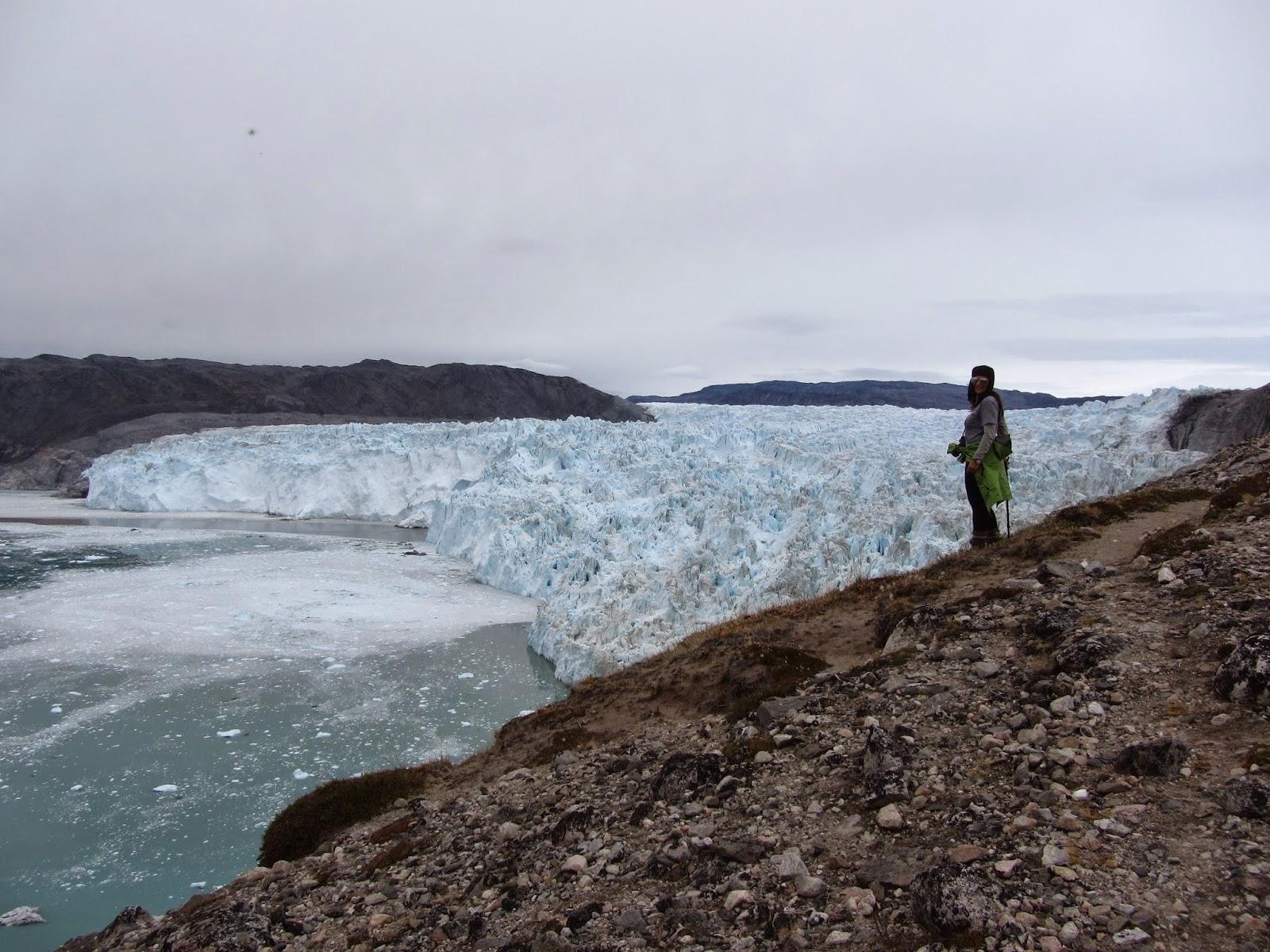 Visitar o GLACIAR EQI e dormir aos pés do Glaciar | Gronelândia