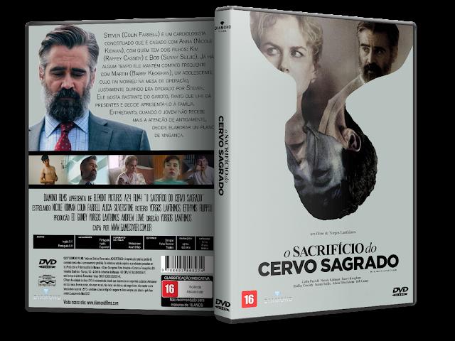 Capa DVD O Sacrifício do Cervo Sagrado [Exclusiva]