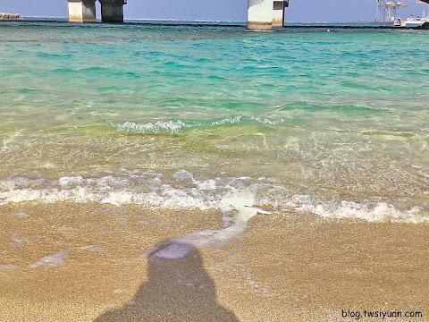 臨近坡上宮的海灘