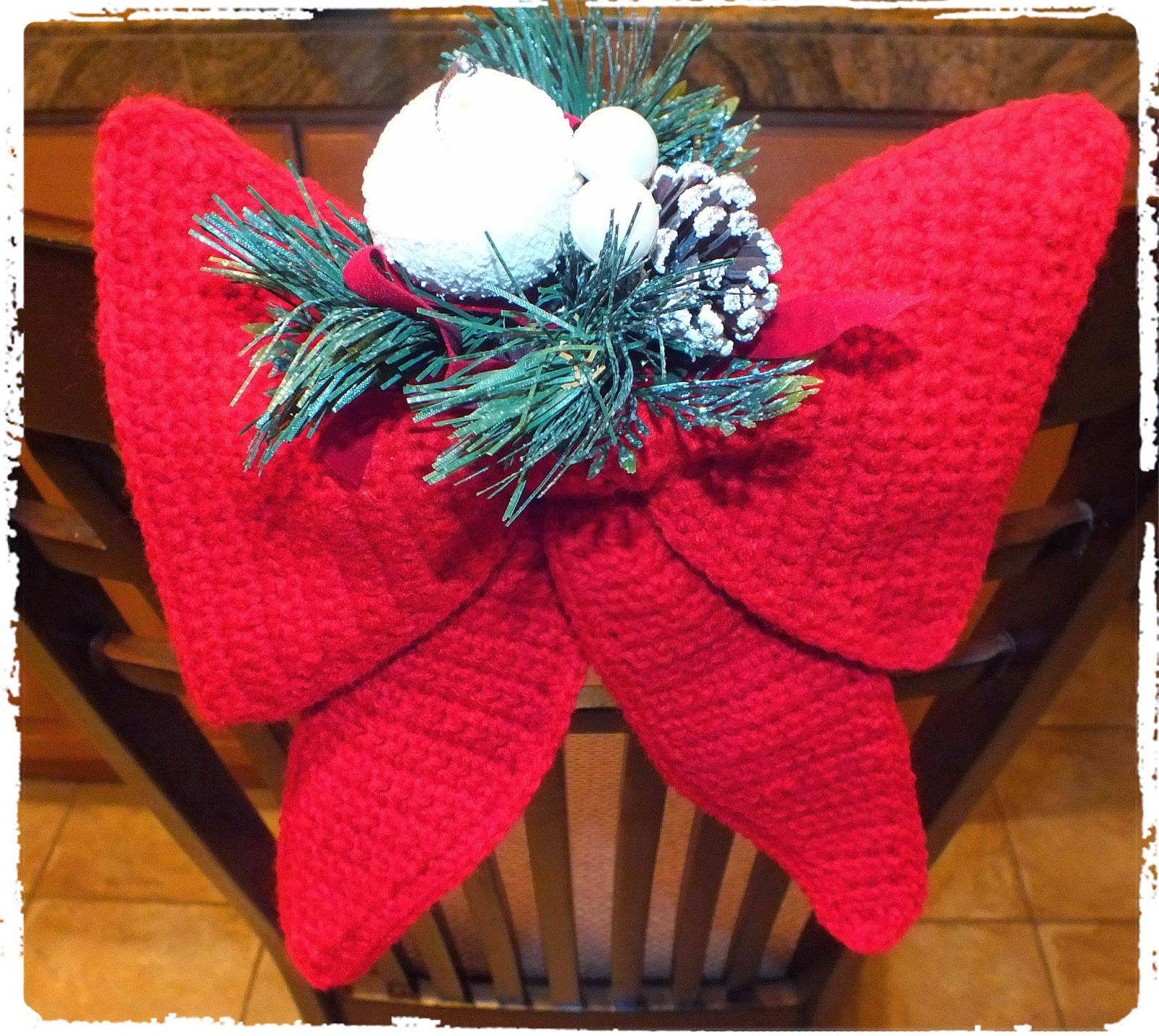 crochet christmas chair covers polywood adirondack rocking chairs connie 39s spot crocheting crafting creating free cute