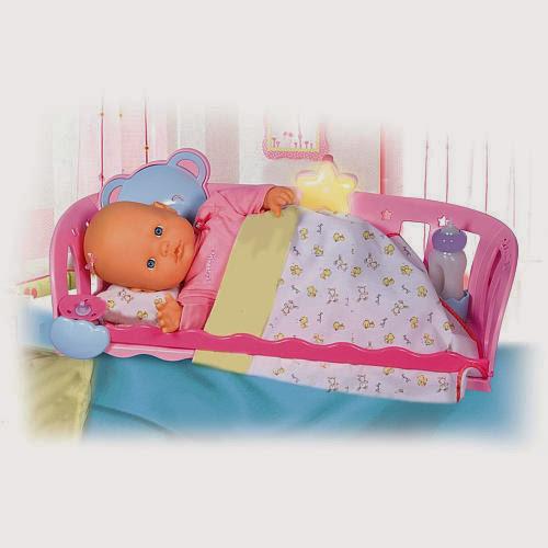 Nenuco Sleep with Me Baby Doll & Cradle