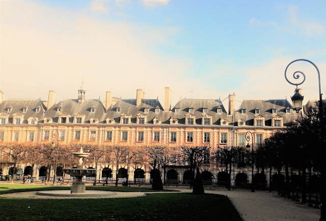 mythic place des VOSGES formerly ROYAL SQUARE