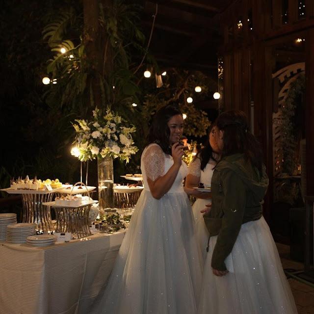 Moira dela Torre's wedding reception made her SPEECHLESS