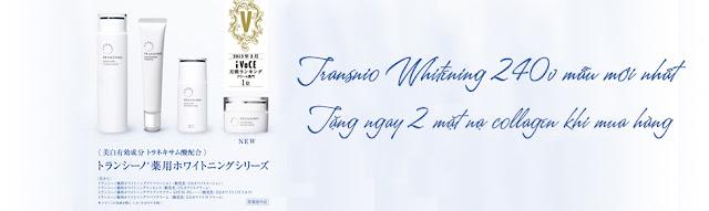 Bộ mỹ phẩm Transino Nhật Bản - Bí quyết cho vẻ đẹp không tuổi