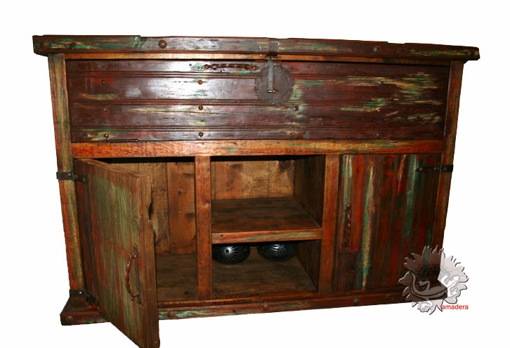 Amadera meuble et d coration le charme thique du mexique authentique meub - Meuble pour ranger les verres ...
