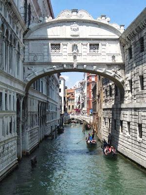 Ponte dei Sospiri in Venezia