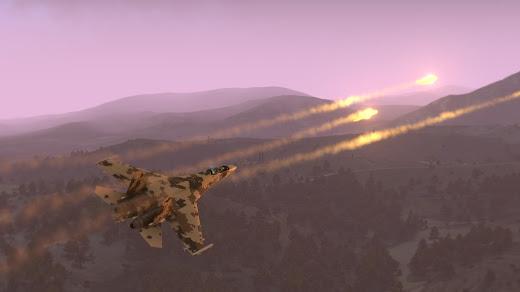 Arma3用Su-35S Flanker-E 戦闘機 MOD