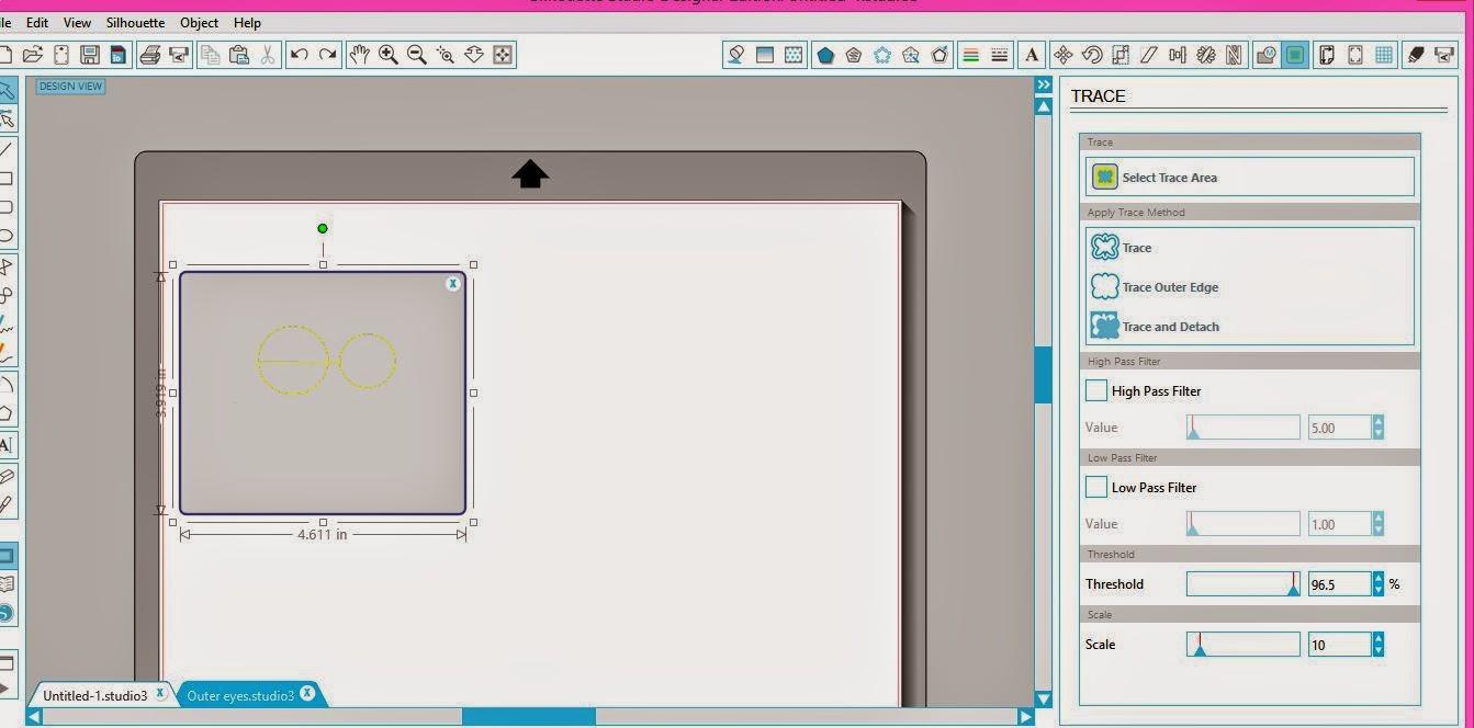 Machine embroidery, applique, Silhouette, Silhouette tutorial, trace