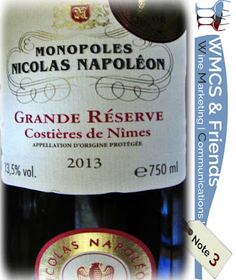 Monopoles Nicolas Napoléon Grande Réserve 2013