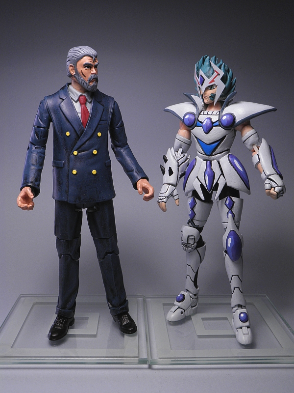 Argenta-2008 Customs: Mitsumasa Kido 城戸光政 Saint Seiya