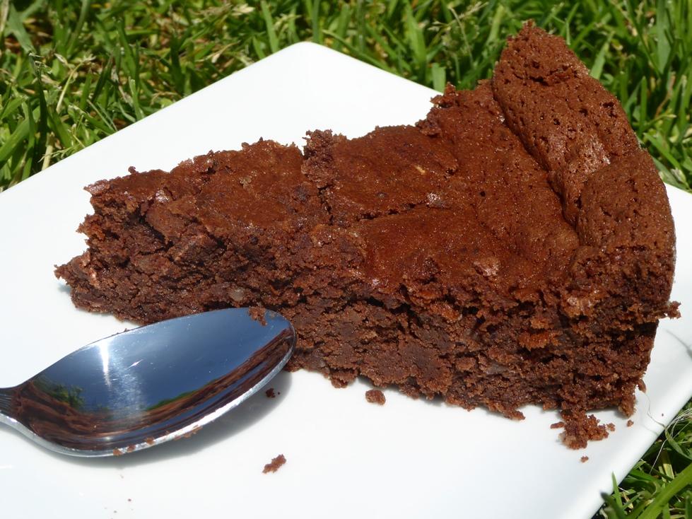 Fondant sans gluten chocolat châtaigne
