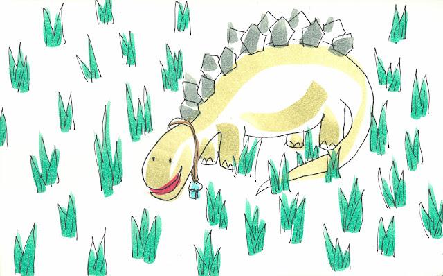 Cuento infantil de dinosaurios