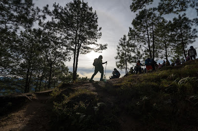 Trekkers Ampucao Itogon Benguet Cordillera Administrative Region Philippines
