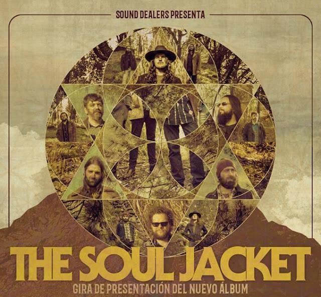 The Soul Jacket - gira Abril y Mayo - Presentación tercer álbum