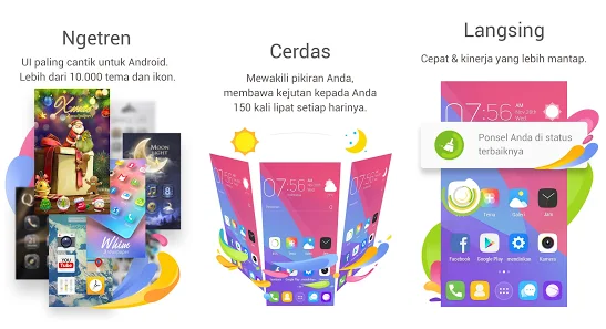 Download GO Launcher EX-Tema & Wallpaper Apk Untuk OS 2.3 Froyo (API level 8)