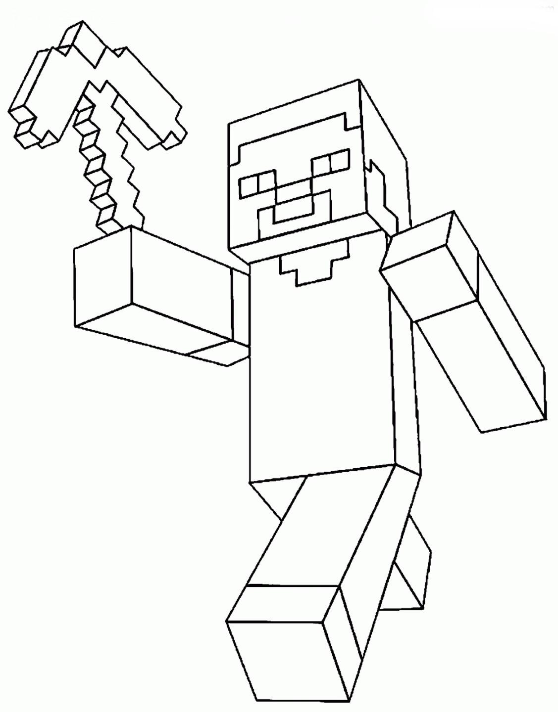 Desenhos De Minecraft Para Colorir Desenhos