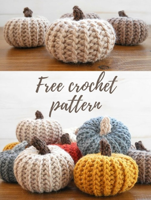 Crochet Pumpkins - Free Pattern