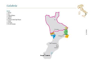 Calabria wine region