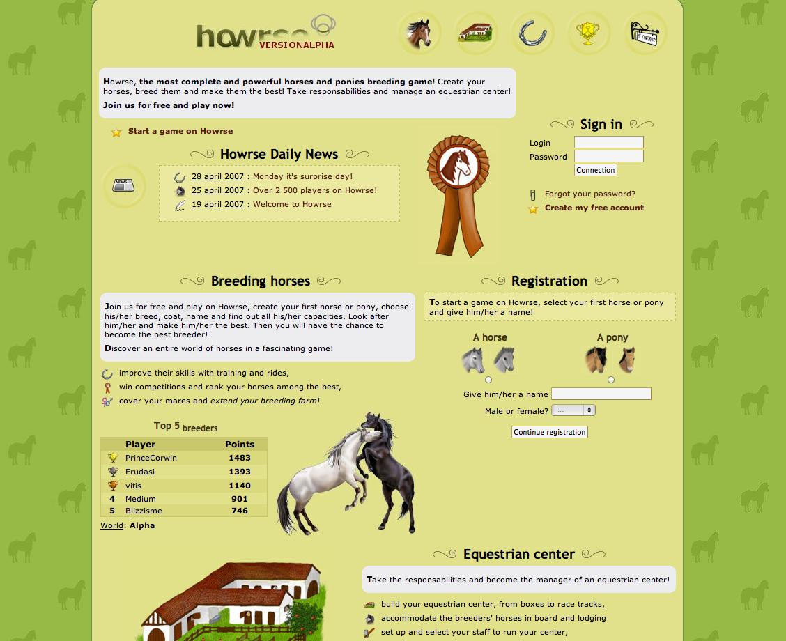 Howrse 2