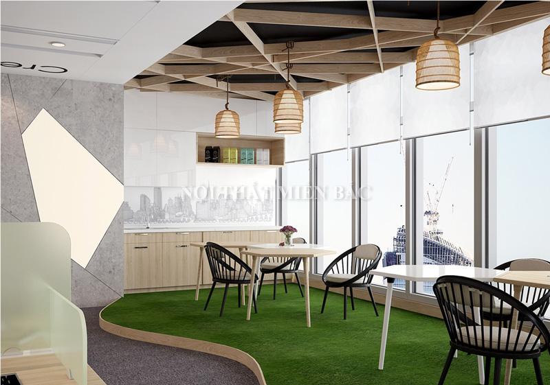 Thiết kế nội thất phòng làm việc hiện đại - Không gian thư giãn