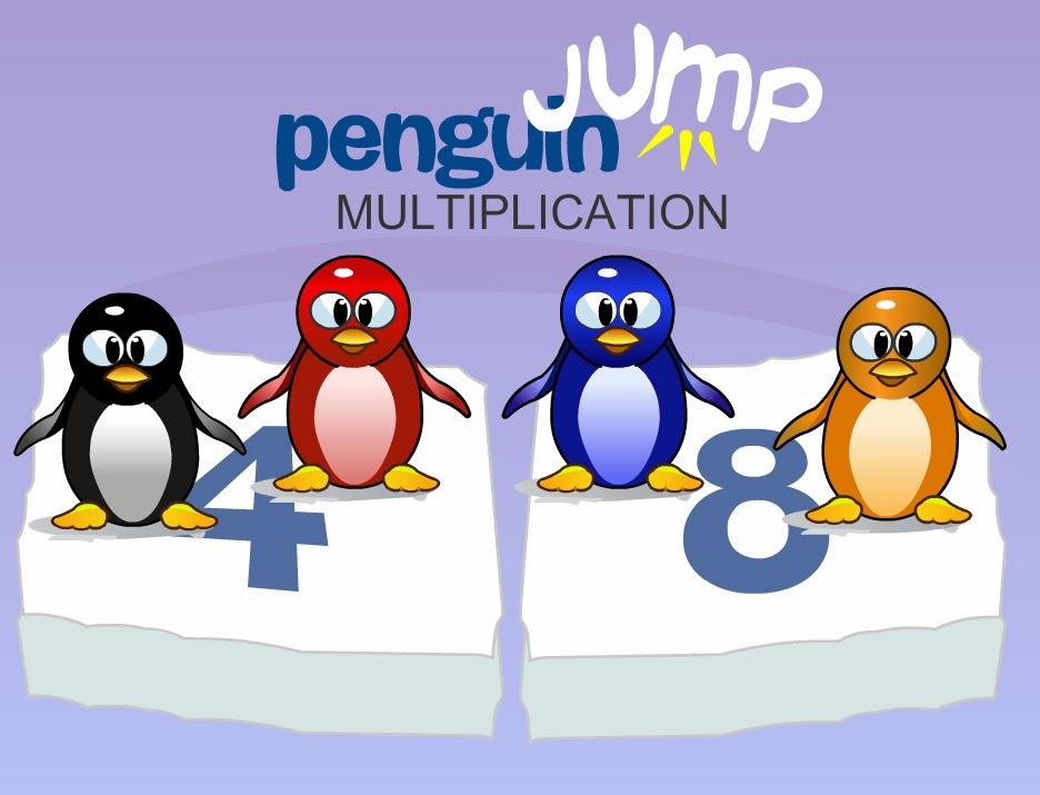 juego multiplicación pinguino