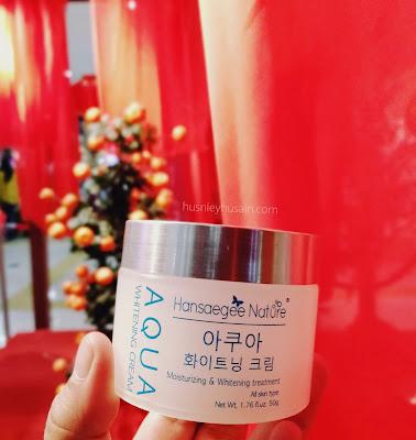 Perubahan Ketara Setelah Sebulan Menggunakan Pelembap Muka Hansaegee Nature | Aqua Whitening Cream