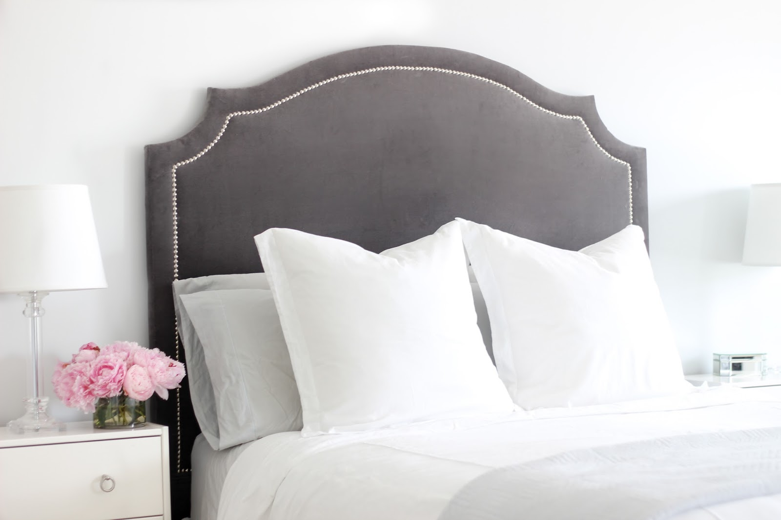 DIY Upholstered Headboard - Home Sweet Ruby