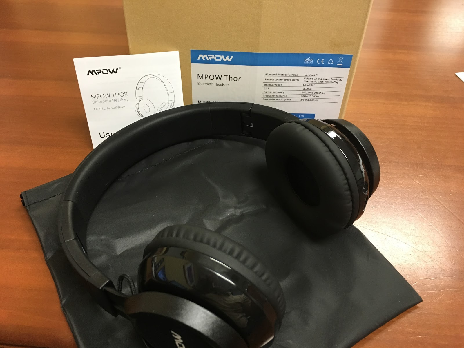 Review]Mpow Thor headphones are a decent option for the