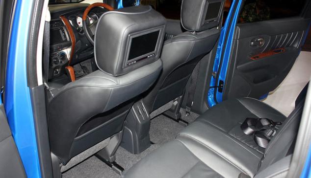 interior, LED, Audio, penumpang, kursi