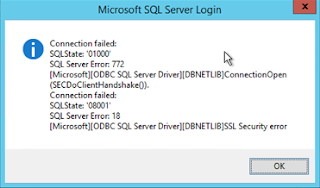 SSL Security Error