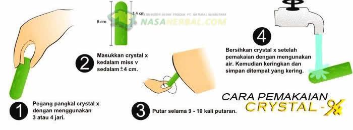 Wajib Baca: Sudah Benar Cara Anda Menggunakan Crystal X Asli?