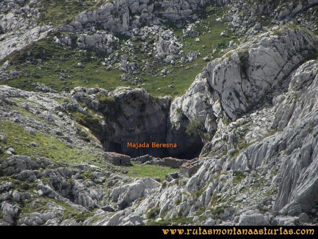 Ruta al Cabezo Llerosos desde La Molina: Majada Beresna