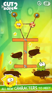 Cut the Rope 2 v1.6.8 Mod Apk (Free Shopping)