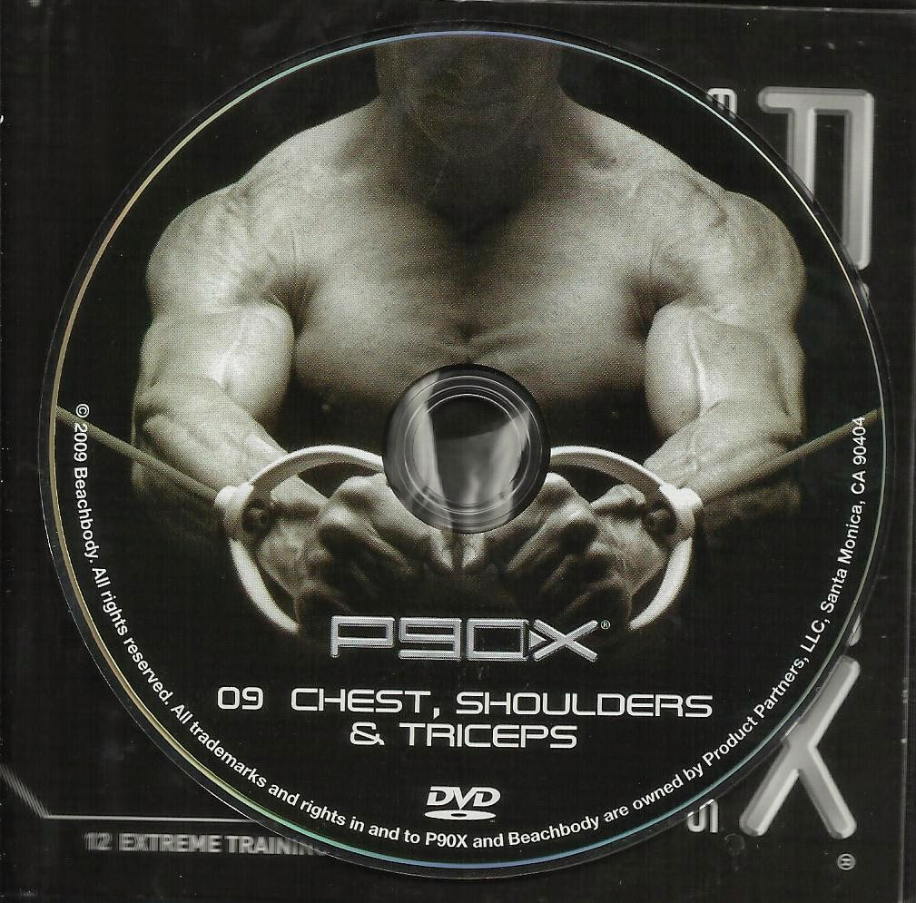 Saundra: Tony Horton P90X Chest, Shoulders, & Triceps - Thoughts