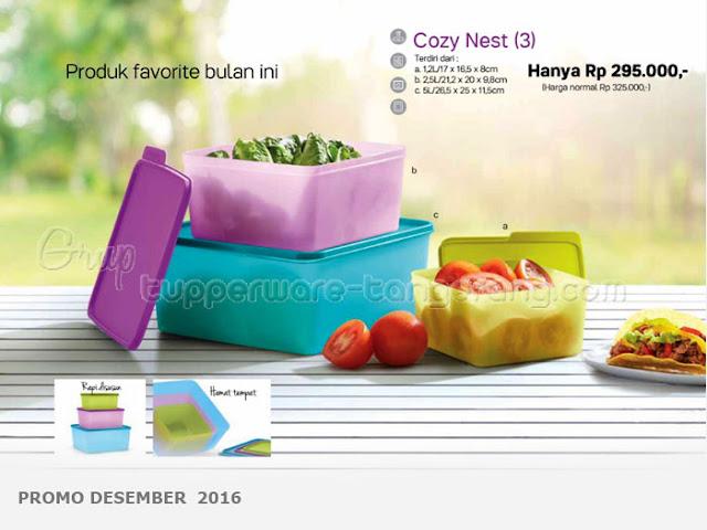 Coosy Nest Promo Tupperware Desember 2016