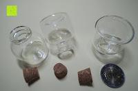 Übersicht: SET Mini-Fläschchen aus Echtglas mit Korken für Dekoration, Apotheker-Fläschchen / Spundflasche, zur Aufbewahrung kleiner Mengen oder als Puppenfläschchen / Dekoration / Basteln / Korken-Flaschen - Marke Ganzoo (3er SET L (20ml))