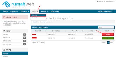 Cara Memperpanjang Domain di RumahWeb 14
