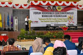 <b>Wiranto Ajak Pemuda dan Mahasiwa Menjadi Agen Pemersatu</b>
