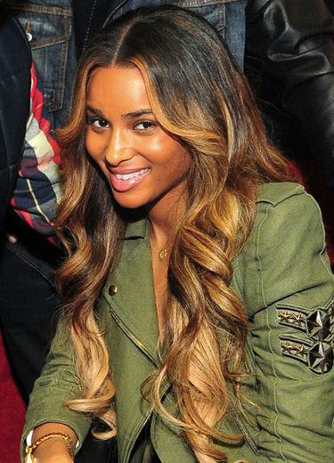 Ciara, Ombre hair trend