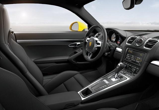 2014 Porsche Cayman Turbo Interior